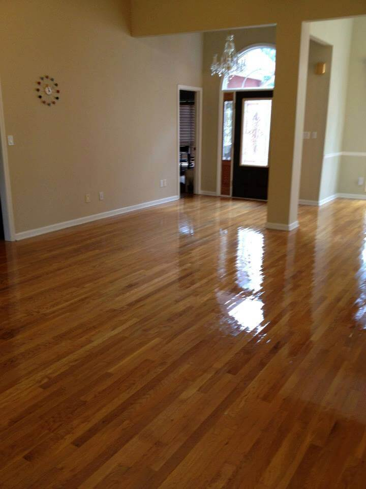 Hardwood floor resurfacing in Boulder, CO