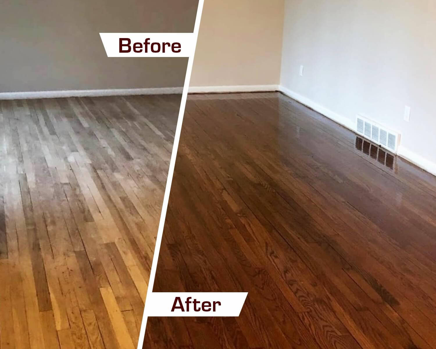 Denver hardwood floor refinishing