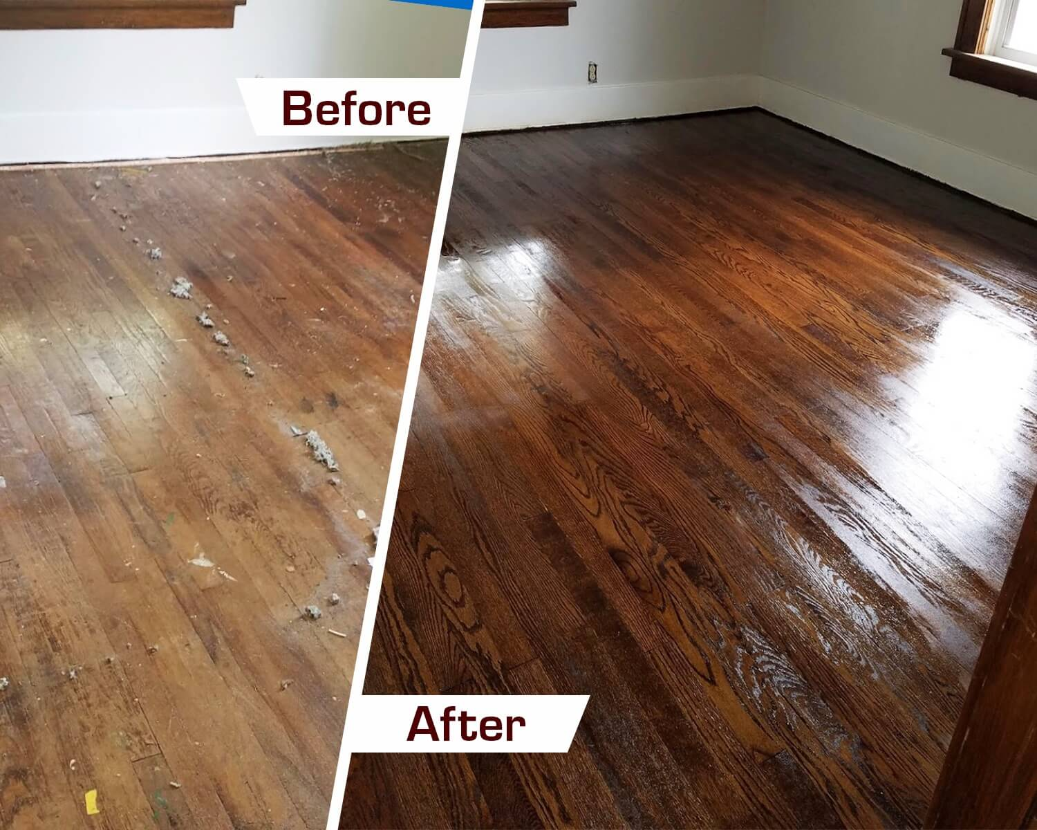 hardwood floor refinishing in Thornton, CO