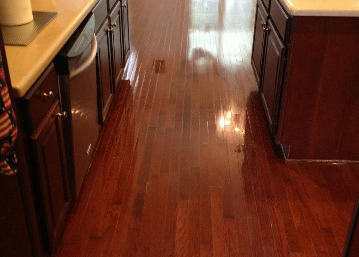 after the fabulous floors denver wood floor refinishing process